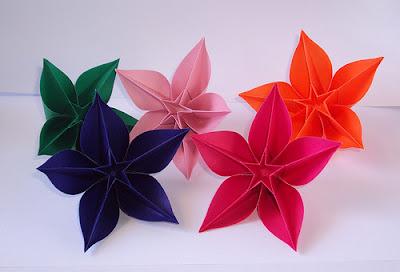 Origami maniacs october 2011 carambola flower by carmen sprung mightylinksfo