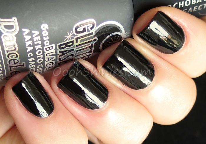 Dance Legend Glitter Base Black