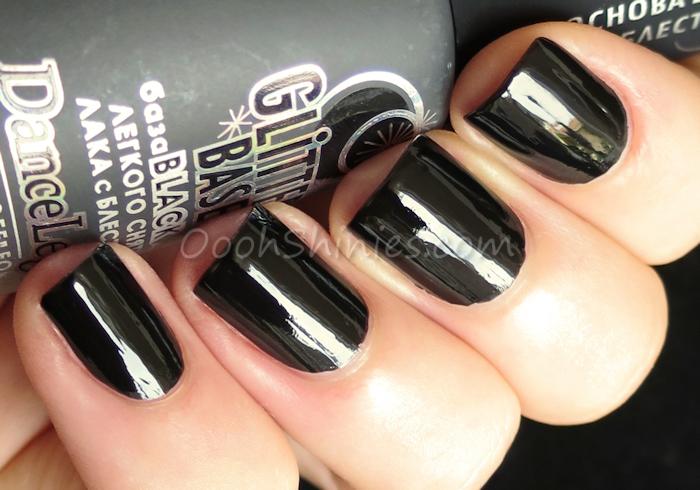 Dance Legend Glitter Base Black