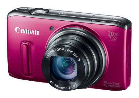 20x Optical Zoom SX260HS Feature