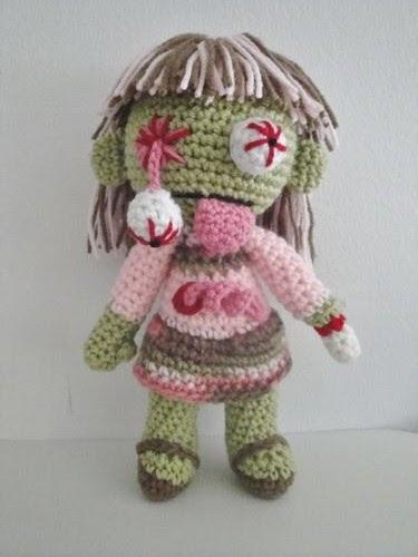 Zombie Knitting Pattern : Chiwaluv amigurumi critters zombies