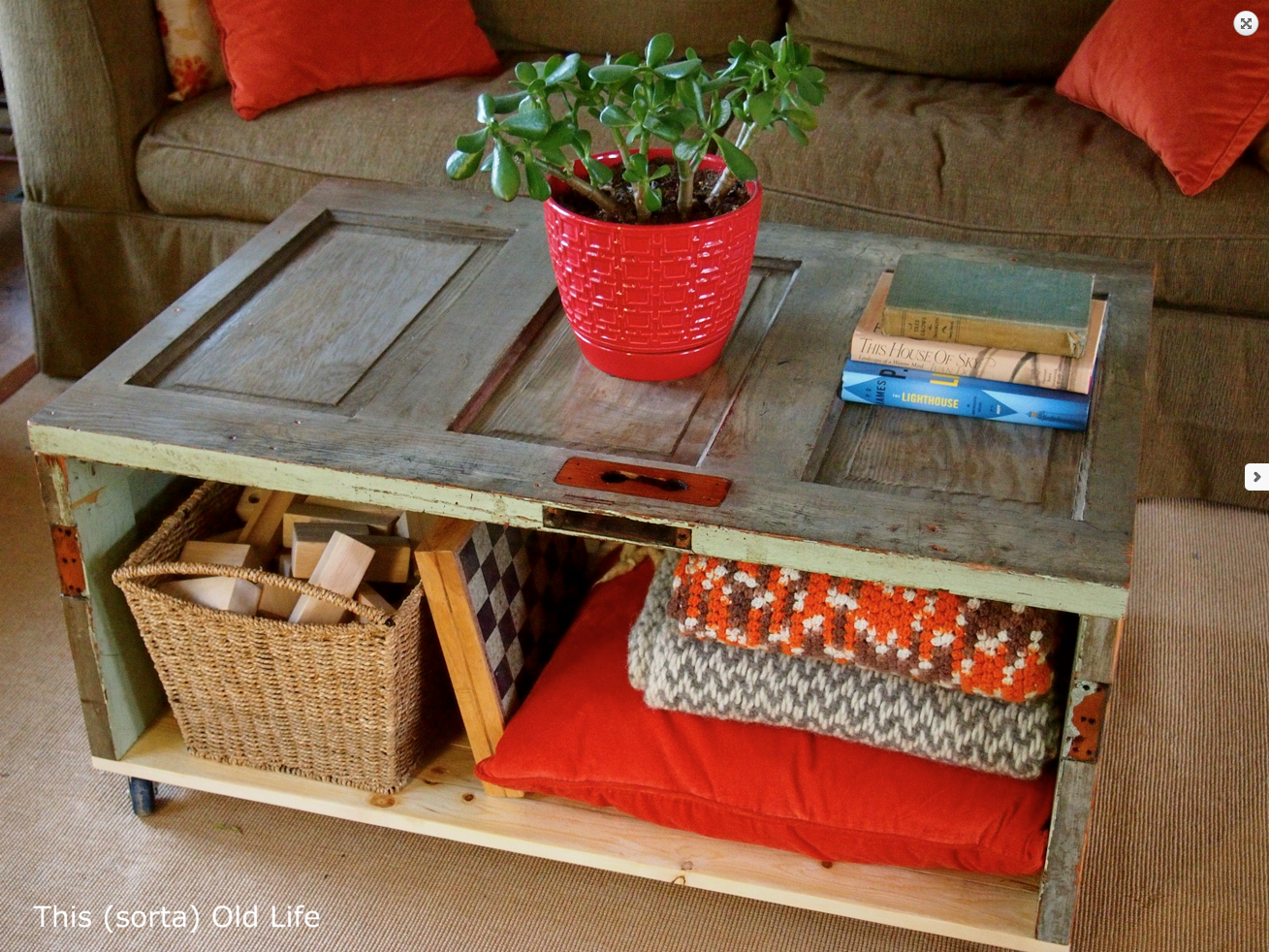 Easy diy coffee table - While They Snooze 5 Great Diy Coffee Tables