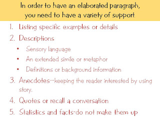 Show Don Tell Essay Examples