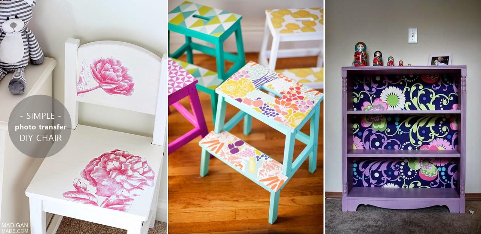 Ideas para intervenir muebles infantiles  Más Chicos