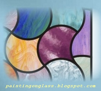 Abstract Stained Glass Patterns