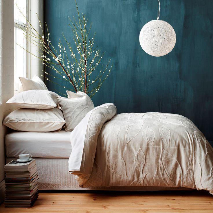 Slaapkamer Inspiratie Blauw. Simple Blauwe Woonkamer With Slaapkamer ...