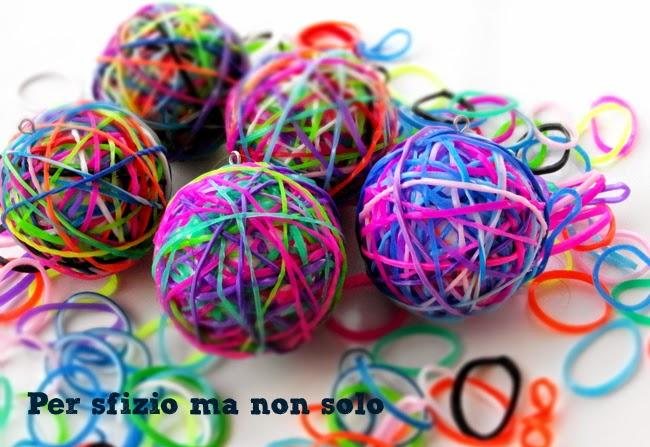 palline-natale-polistirolo-rainbow-looms