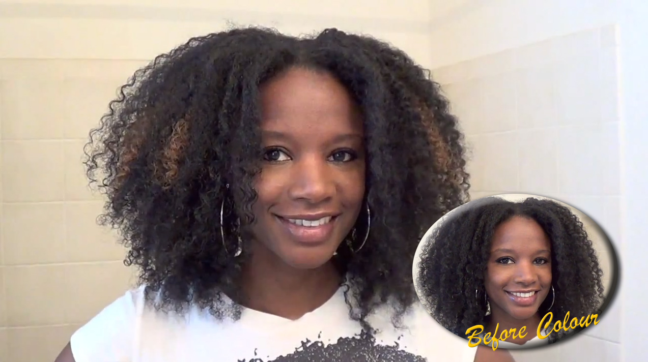 Diy Natural Hair Care How To Create Clip In Highlights For Natural Hair