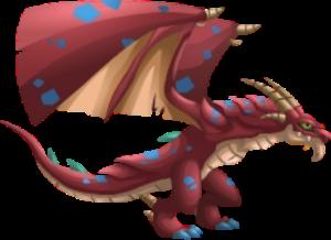 imagen del dragon alas gigantes