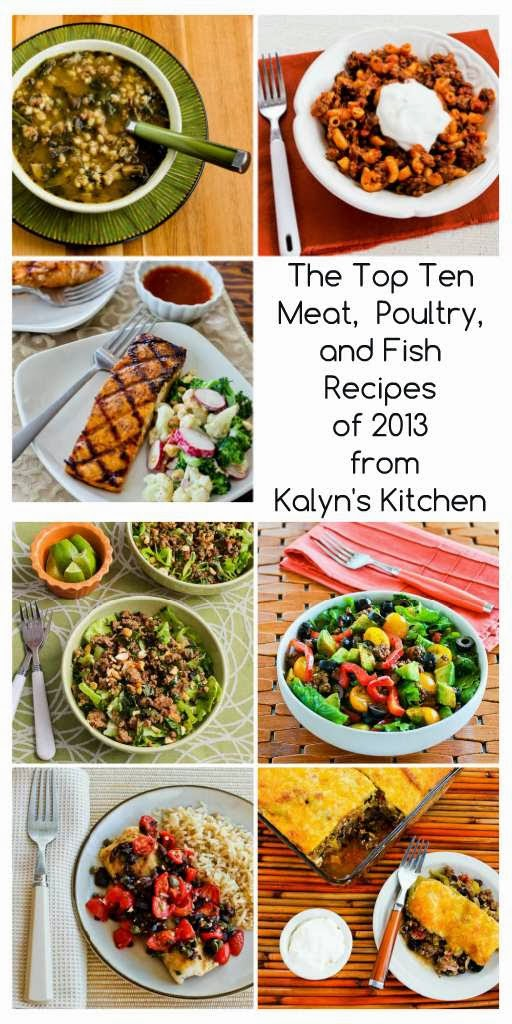 Top Ten Meat, Poultry, and Fish Recipes of 2013 from Kalyn's Kitchen