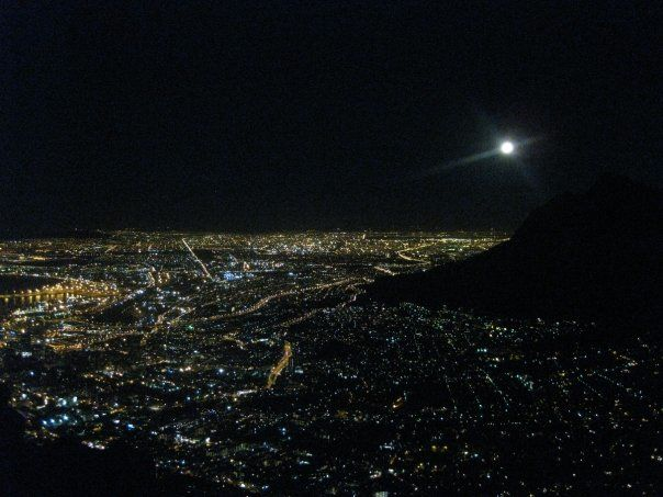 UConn Study Abroad in Cape Town 2012: Rebecca: full moon ...