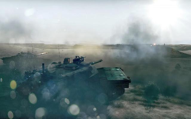 Battlefield 3 Tank Battle