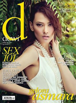 Dara Warganegara HQ Pictures dewi Indonesia Magazine Cover February 2014
