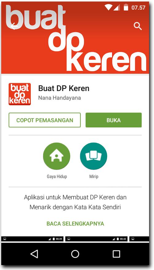 DP BBM Keren
