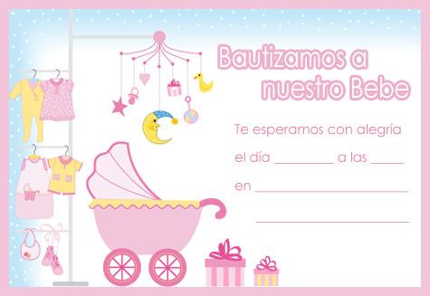 Plantillas de tarjetas de bautismo para imprimir gratis - Imagui