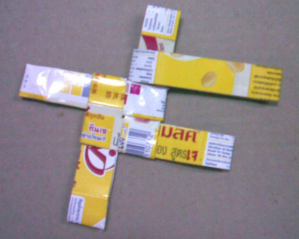 diy basket , how to reuse milk carton