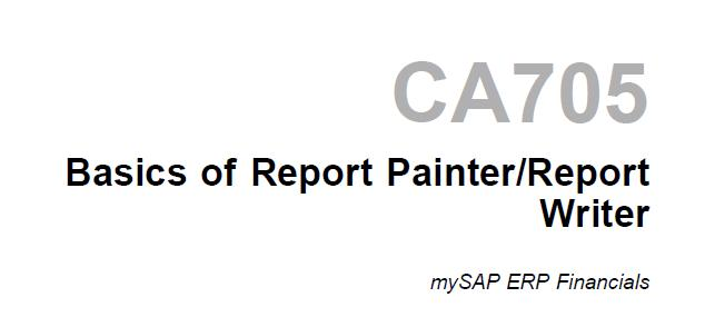 Sap report writer books