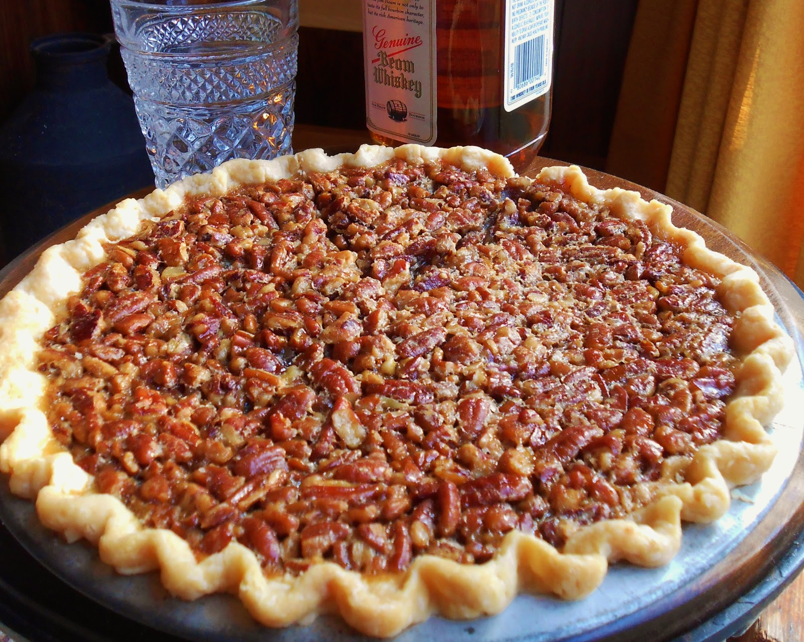 Baking Outside the Box: Bourbon Pecan Pie