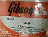 Gibson J-40
