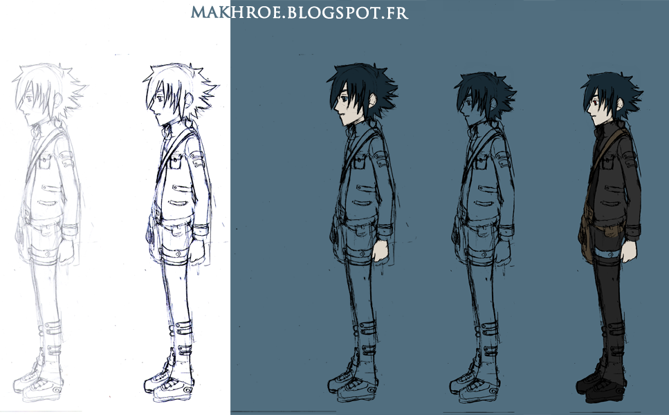 My Art (Dessins) Makhroe+evolution