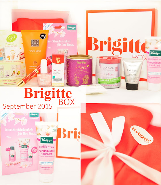 #BrigitteBox, Beauty-News im September 2015