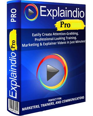 Explaindio Video Creator Platinum 3.038 poster box cover