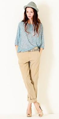 Allure sur mesure le blog du relooking - Que porter avec un pantalon beige femme ...