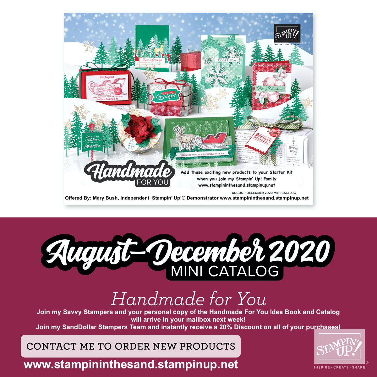 New Holiday Mini Catalog