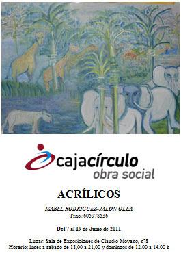 Exposición Isabel Rodriguez-Jalón Olea