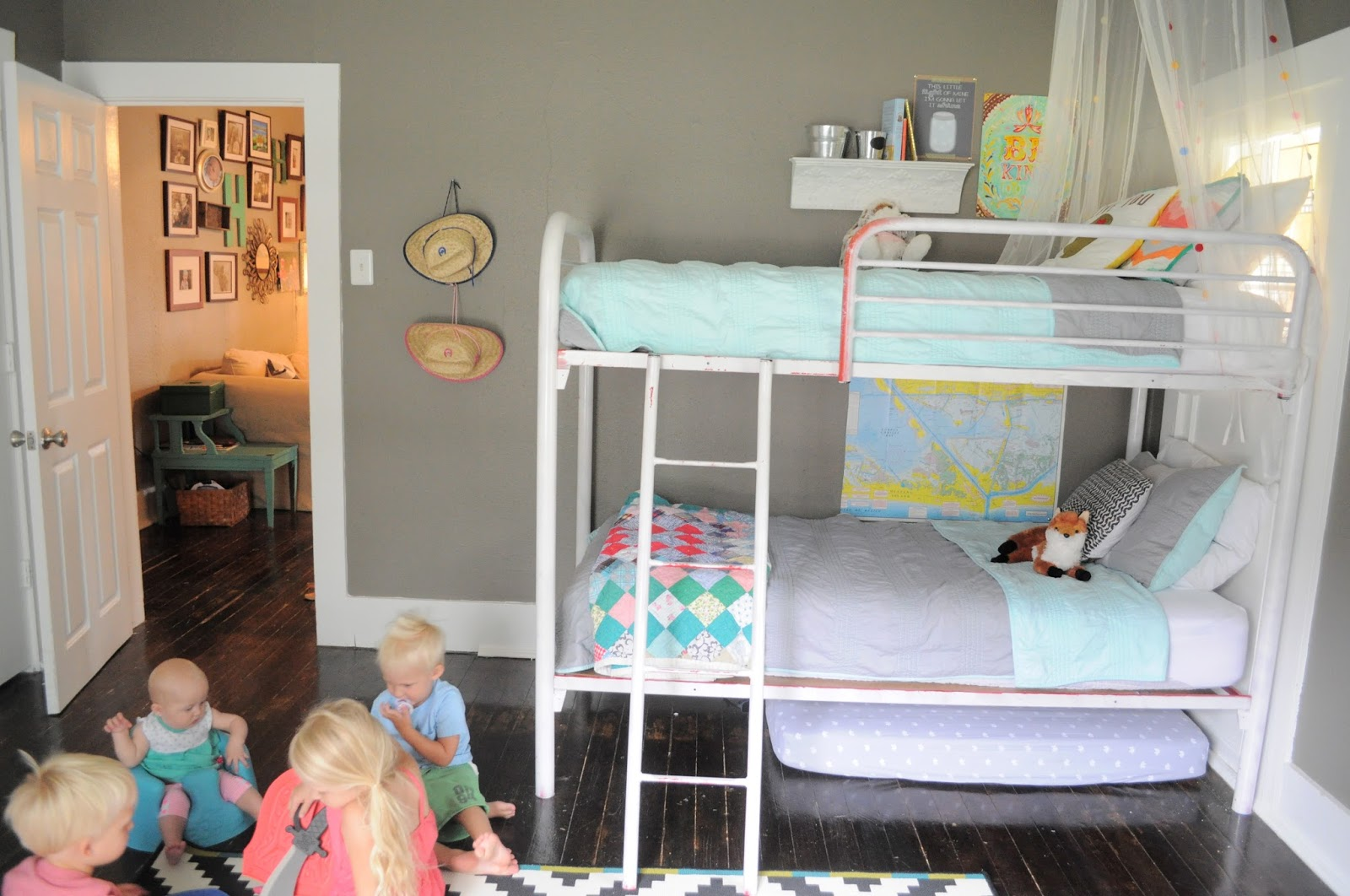 Living Small  Shared Kids Room Part 73