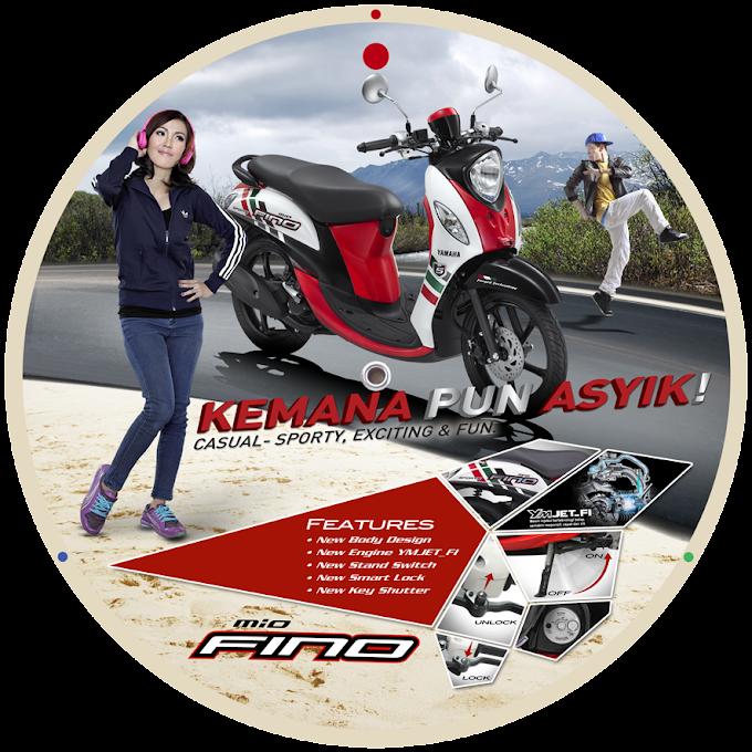 Fino FI Beri Yamaha Angin Segar Segmen Matik Retro