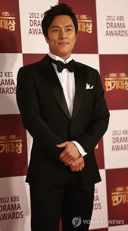 Kim Dongwan 2012 KBS Drama Awards