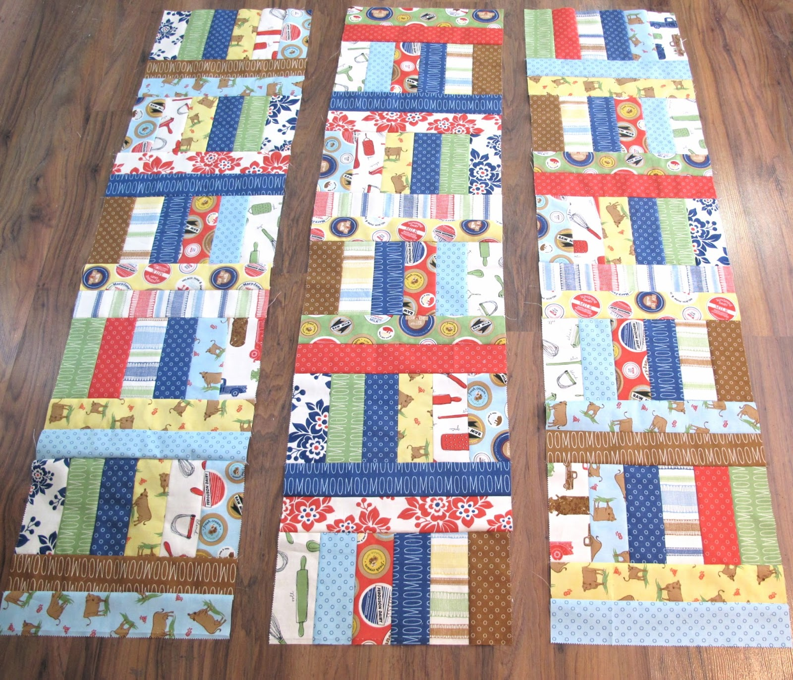 Free Quilt Patterns Using Jelly Roll Strips : Bee In My Bonnet: Jelly Roll Jam 2 - A Free Tutorial!!