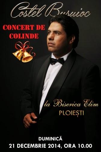 Costel Busuioc: Concert de colinde la Biserica Elim Ploieşti - Promo Sponsorizat