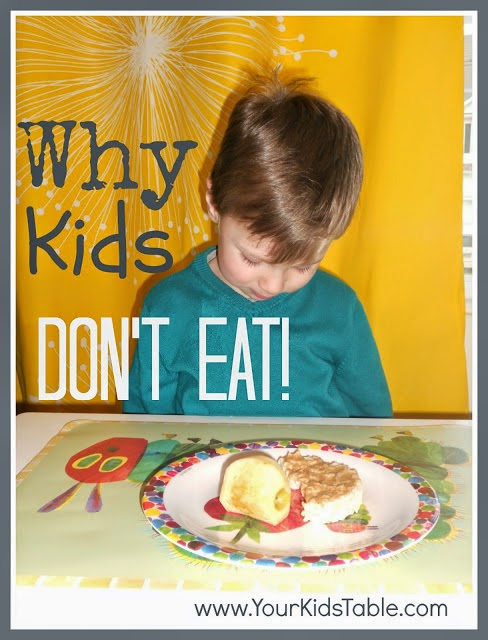 Why kids don't eat their breakfast?