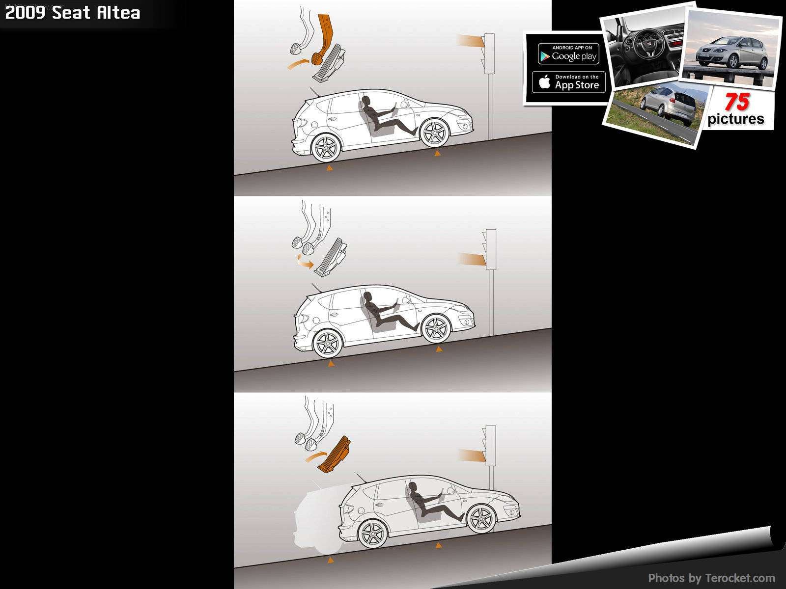 Hình ảnh xe ô tô Seat Altea 2009 & nội ngoại thất