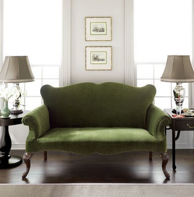 denise briant interiors do you have a green sofa. Black Bedroom Furniture Sets. Home Design Ideas