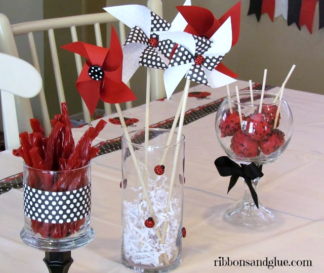 Ladybug Party Table