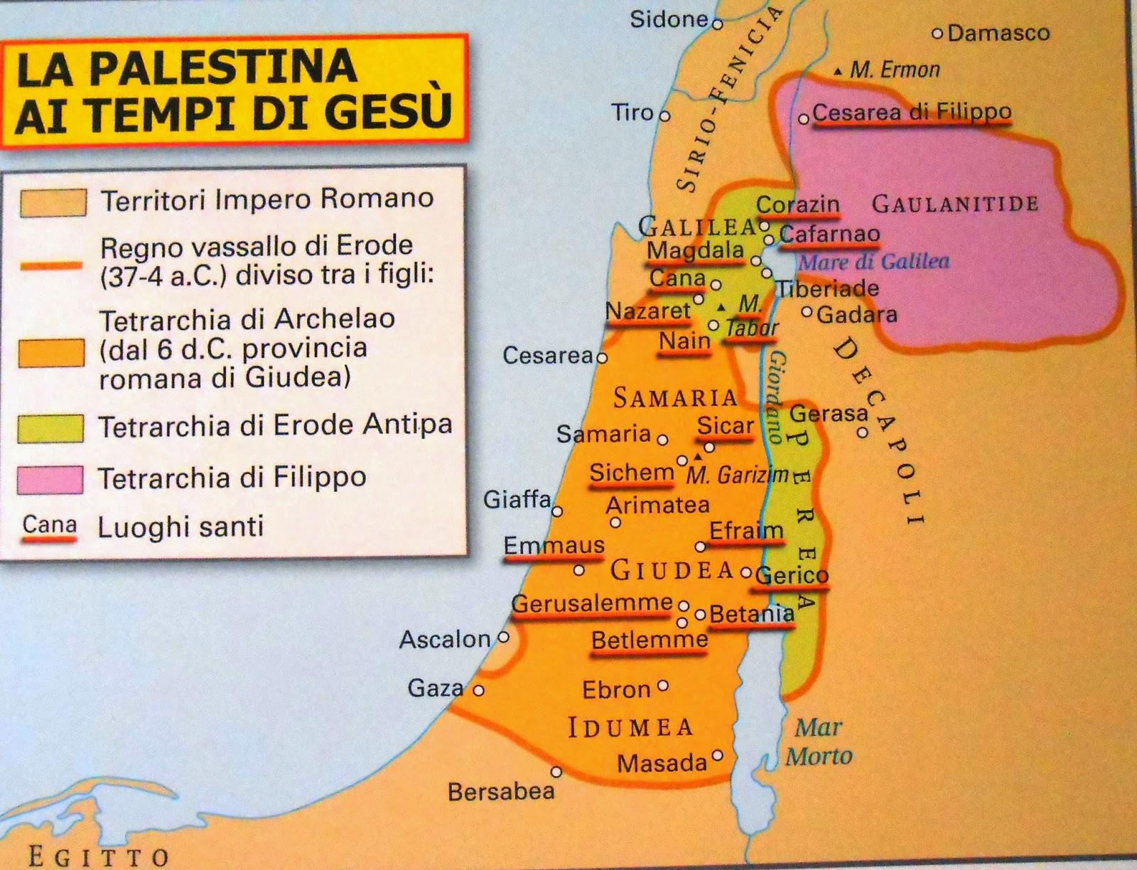 Super IdRNicFi: La Palestina ai tempi di Gesù GO85