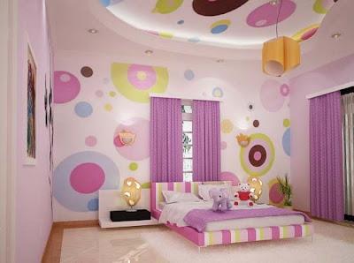 dormitorio juvenil color rosa