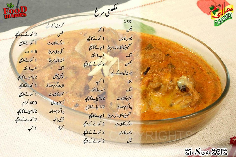 Makhani murgh food diaries makhani murgh forumfinder Image collections