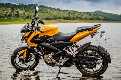 PULSAR 200 NS - amarilla