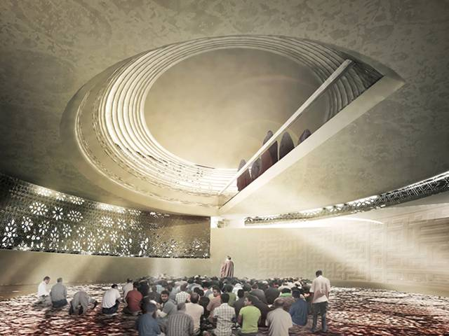 Mosque Amir Al-Momenin Proposal — Tehran