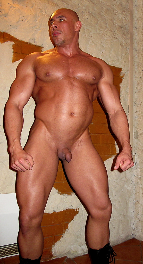 muscle small penis nude