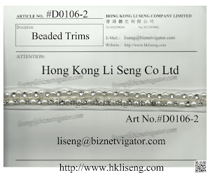 Beading Trims Manufacturer - Hong Kong Li Seng Co Ltd