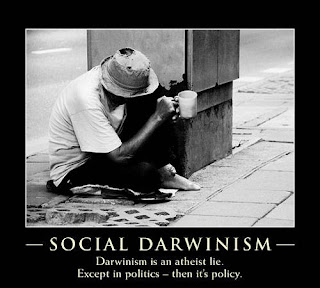 Evolution is a Lie - Intelligent Design is the Truth! Social-Darwinism