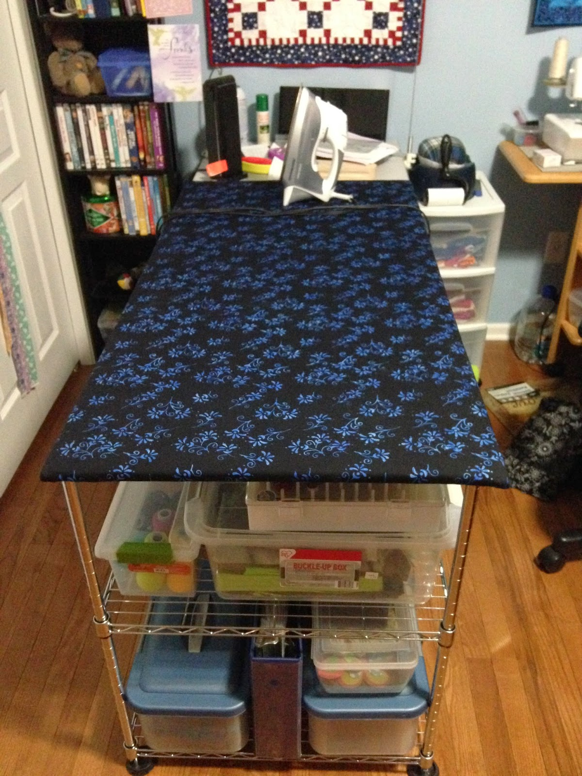 Quilting With Mom How To Make A Quilter S Ironing Board