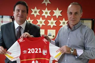 Santa Fe y Umbro renuevan patrocinio hasta 2021