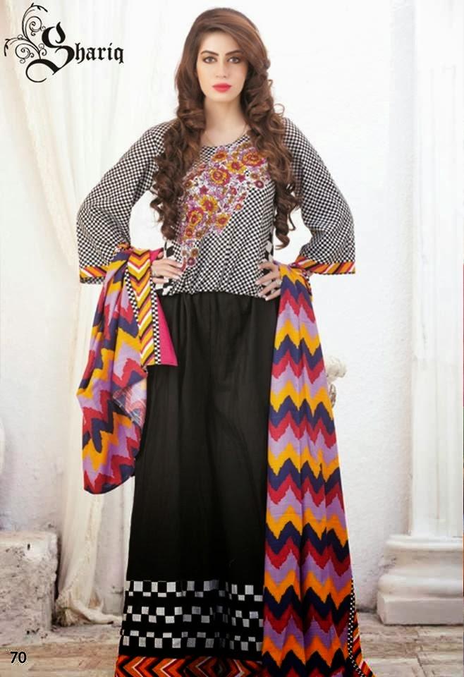 Shariq Textiles+Latest+Female+Khadder+Dress+Collection+In+2013 14003