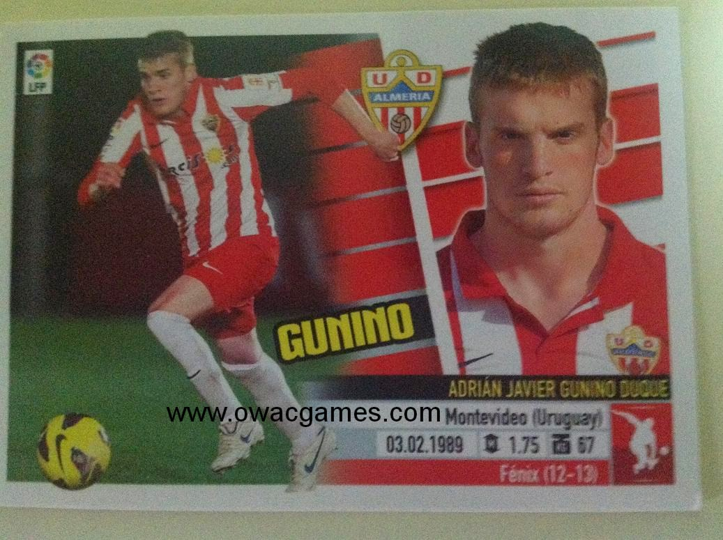 Liga ESTE 2013-14 Almeria 3 - Gunino